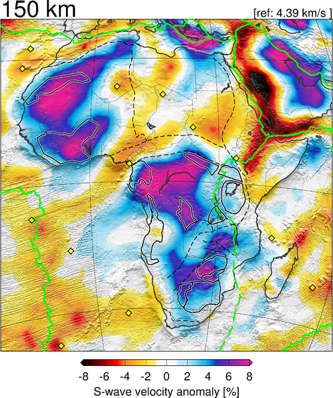 Tomography in Africa